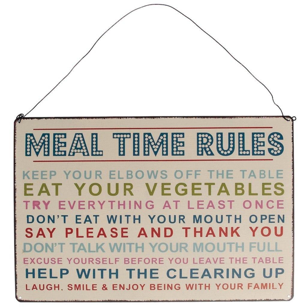 Pravidlá stolovania (EN)