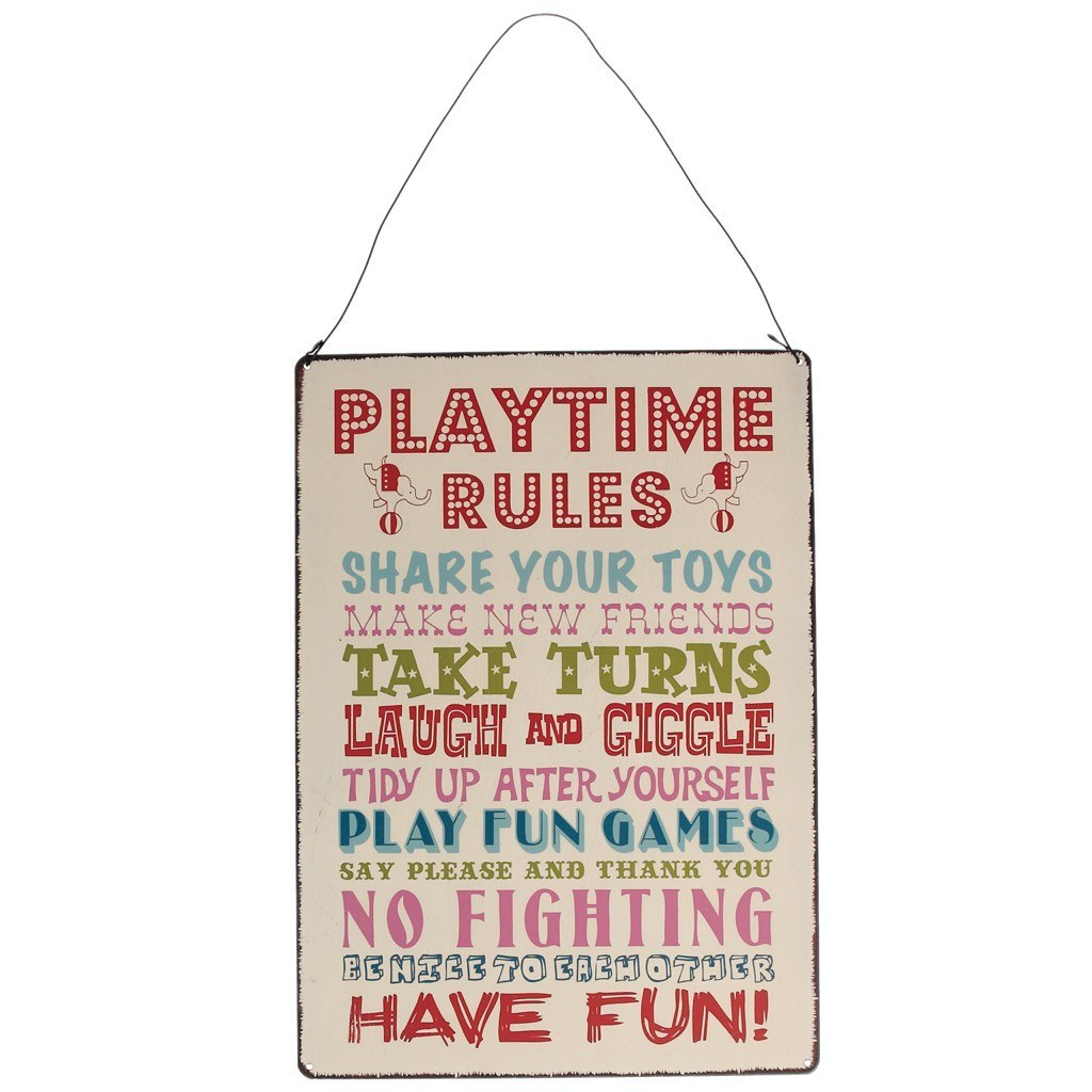 Pravidlá pri hre (EN)