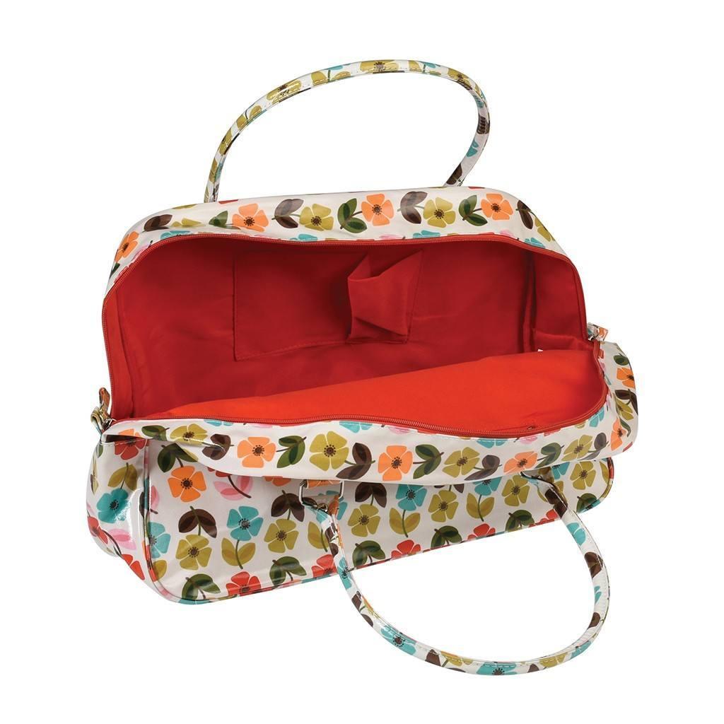 Cestovná taška na víkend (Vintage makovice)