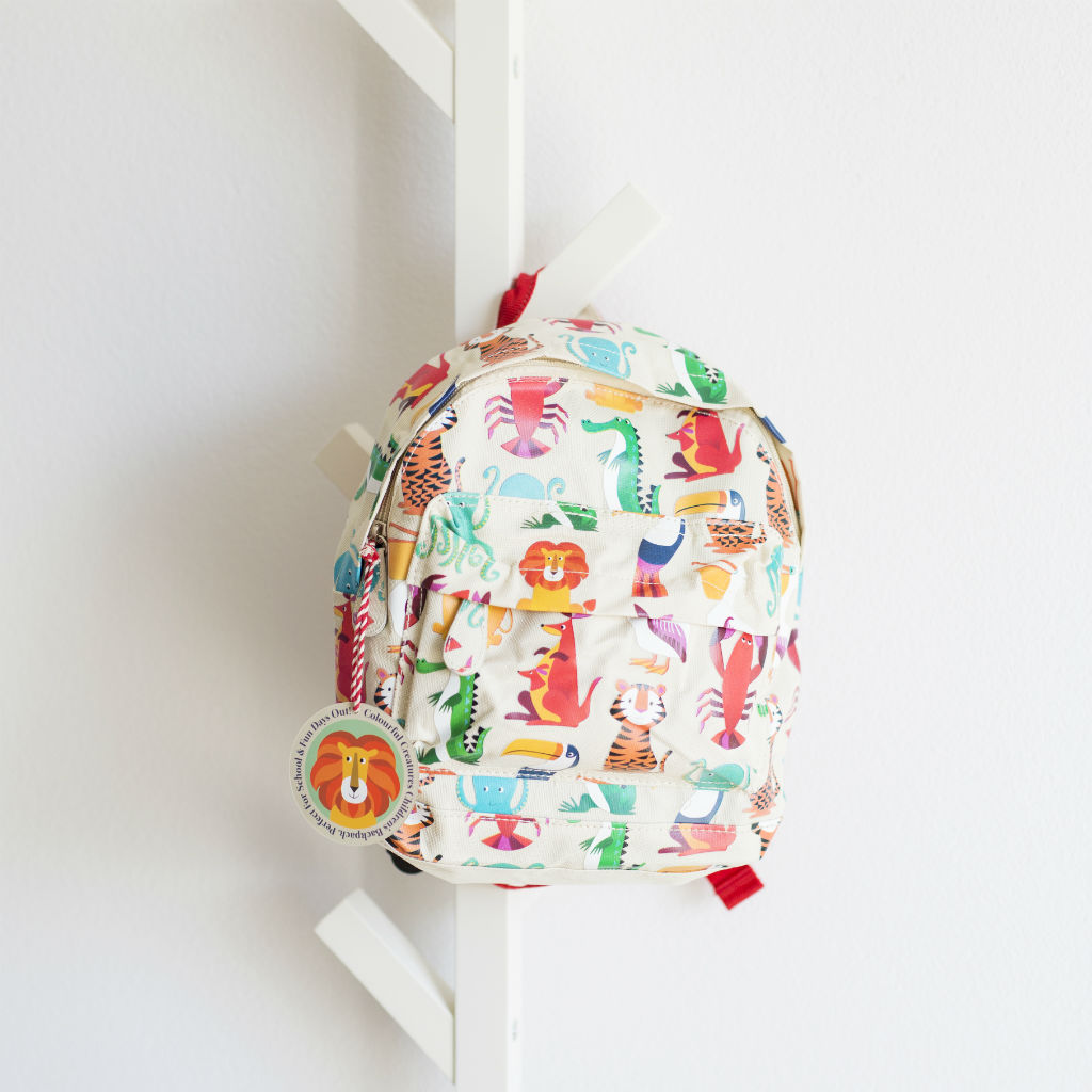 Detský mini ruksak (Pestrofarebné potvorky)