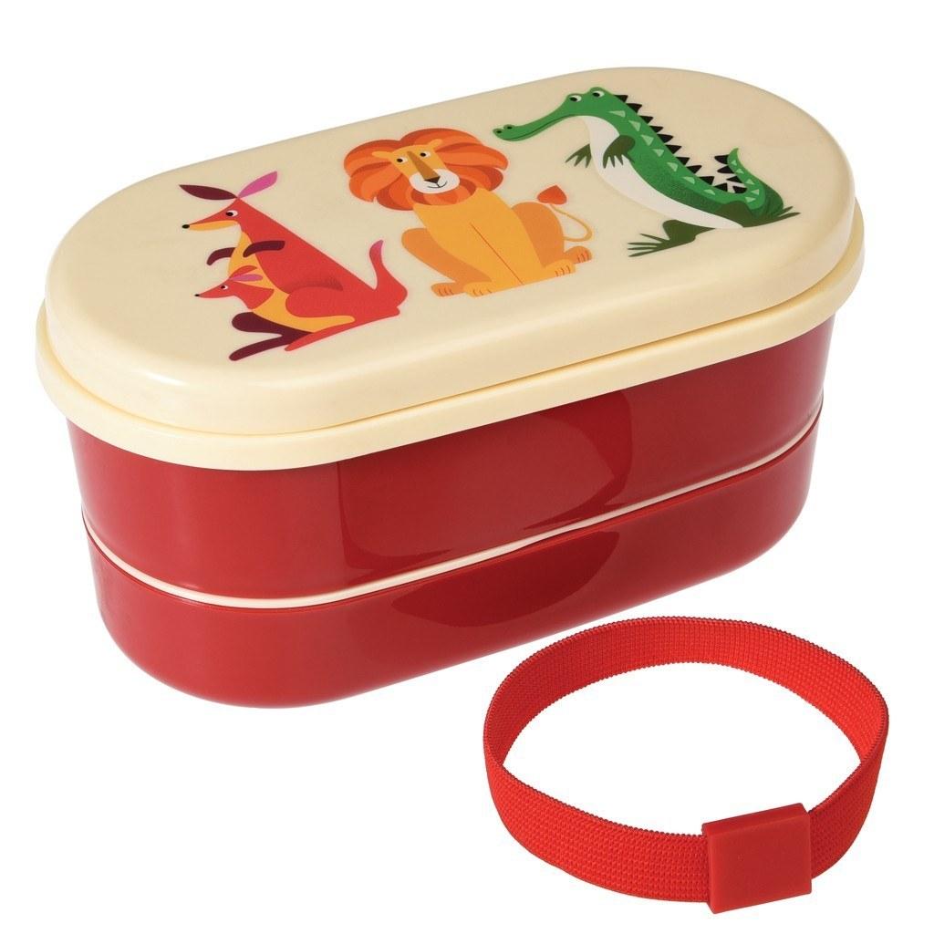 Detský bento box (Pestrofarebné potvorky)