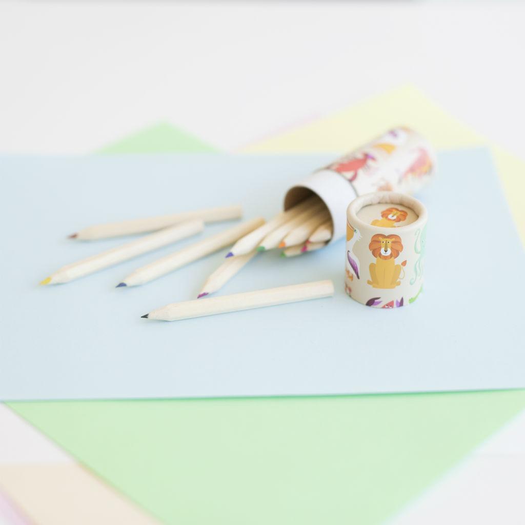 Sada 12 farebných ceruziek (Pestrofarebné potvorky)