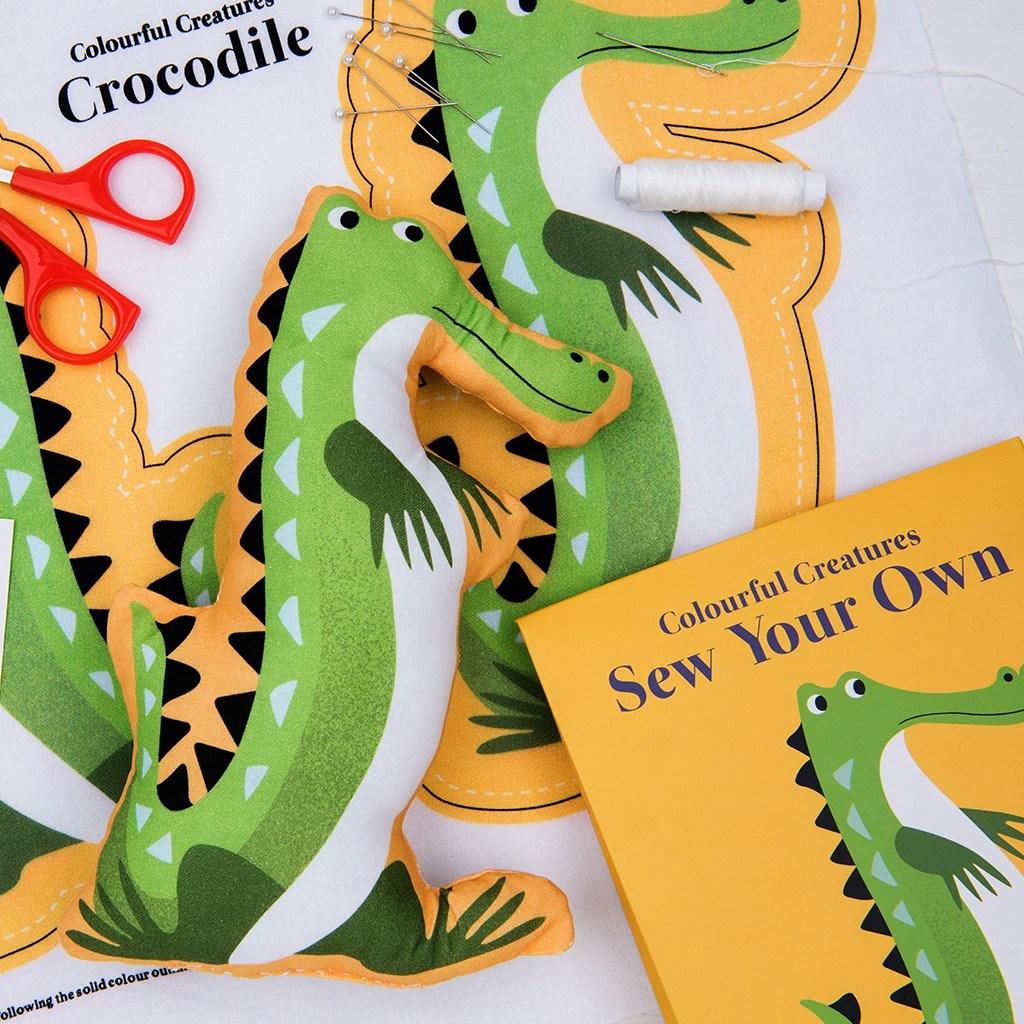 Uši si vlastného krokodíla (Pestrofarebné potvorky)