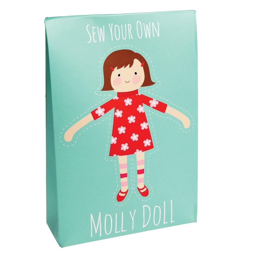 Uši si vlastnú bábiku Molly