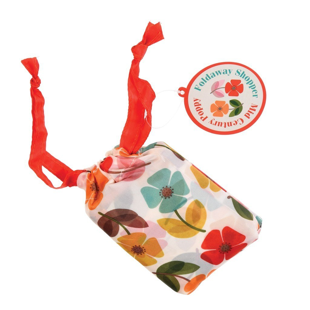 Skladacia nákupná taška (Vintage makovice)
