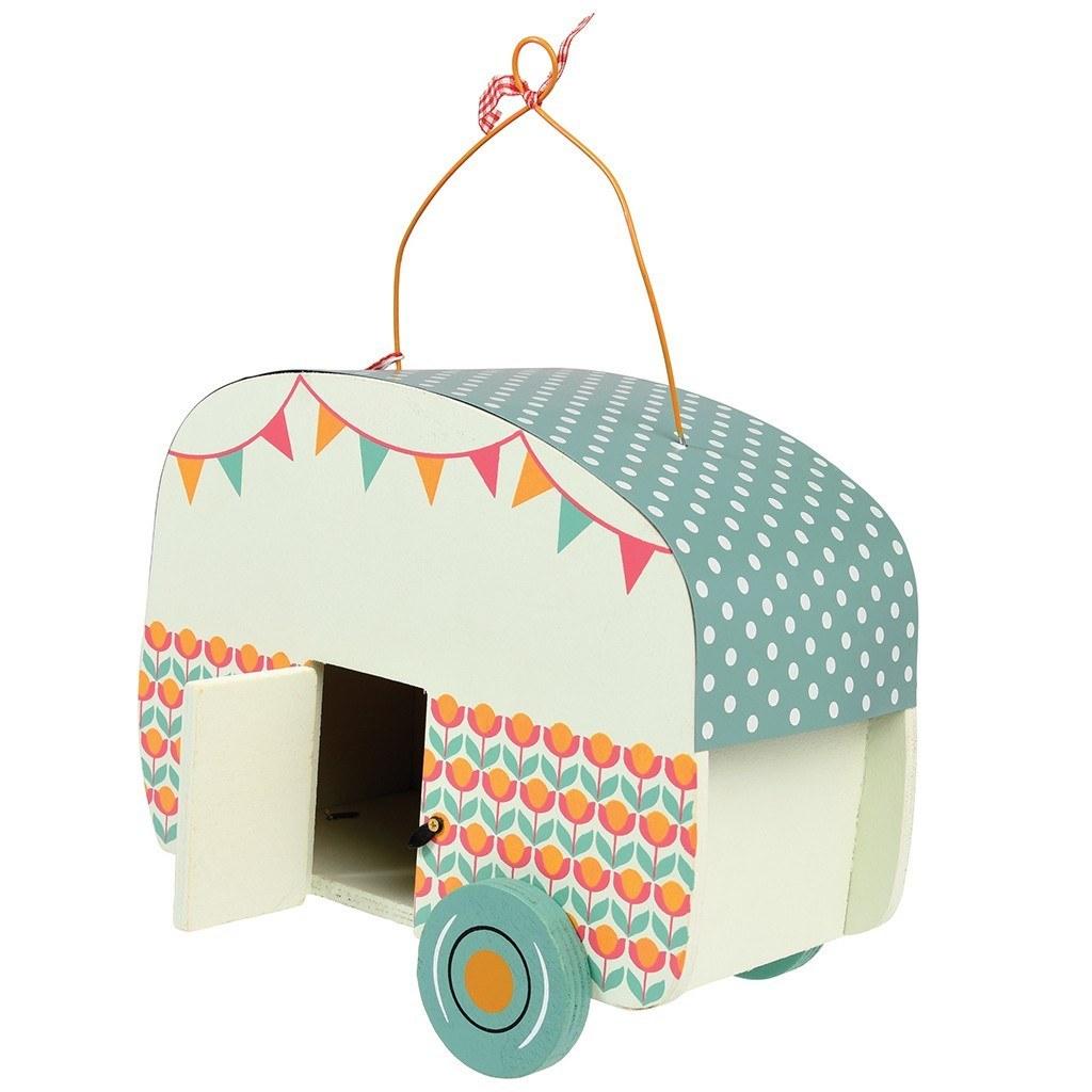 Búdka pre vtáčiky (karavan)