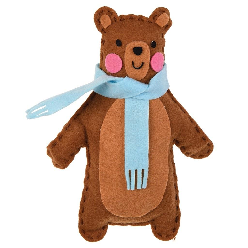 Uši si vlastného medveďa Bruna