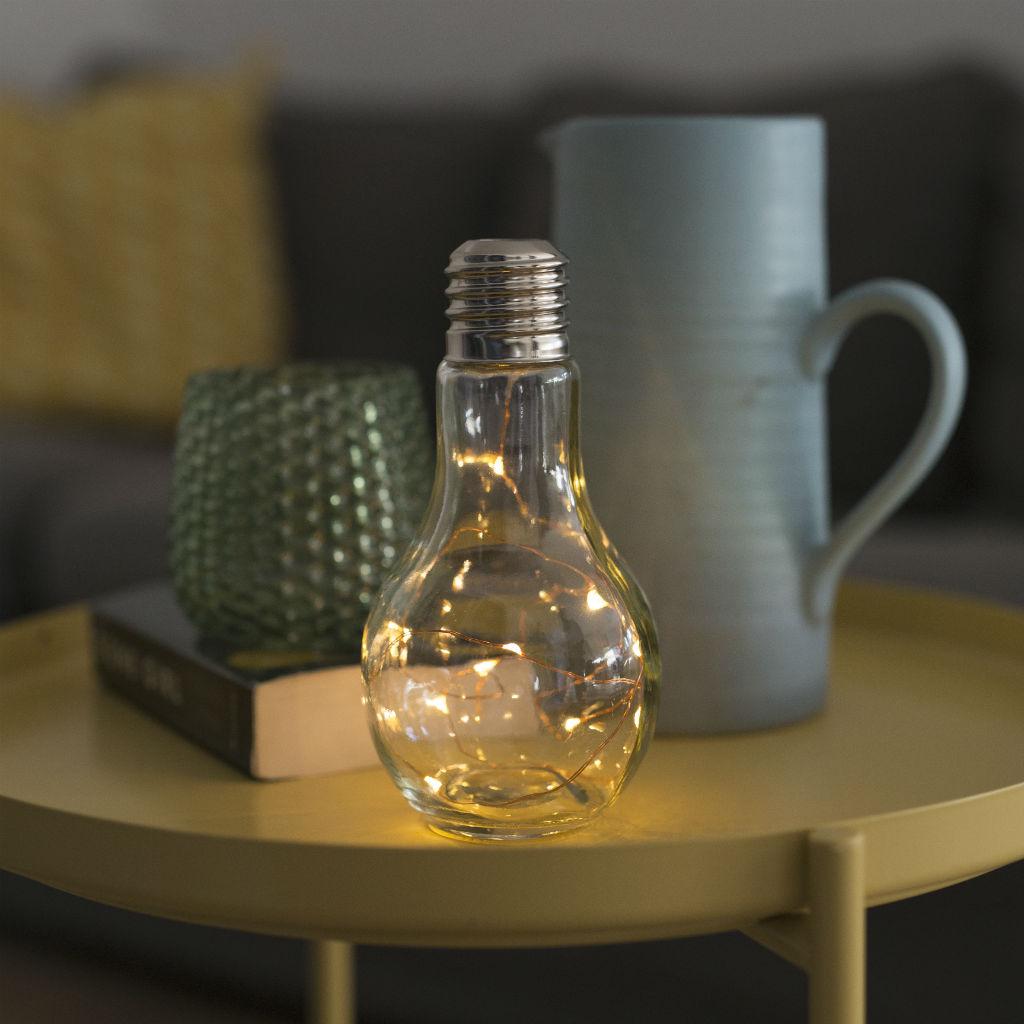 Stolová LED lampa (žiarovka)