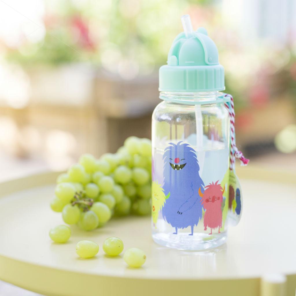Detská fľaša so slamkou (Svetové príšerky)