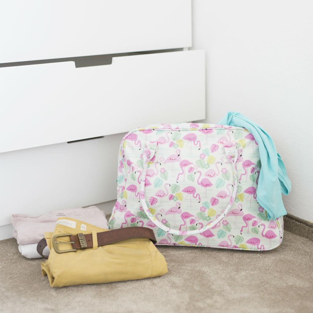 Cestovná taška na víkend (Zátoka plameniakov)