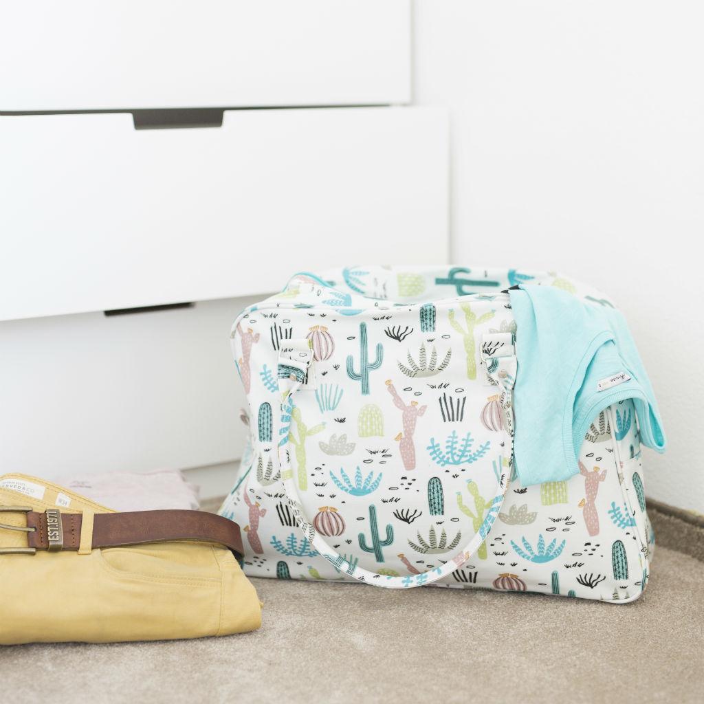Cestovná taška na víkend (Kvitnúca púšť)