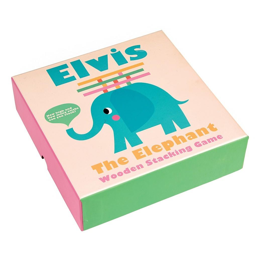 Hra: Prilož paličku (Sloník Elvis)