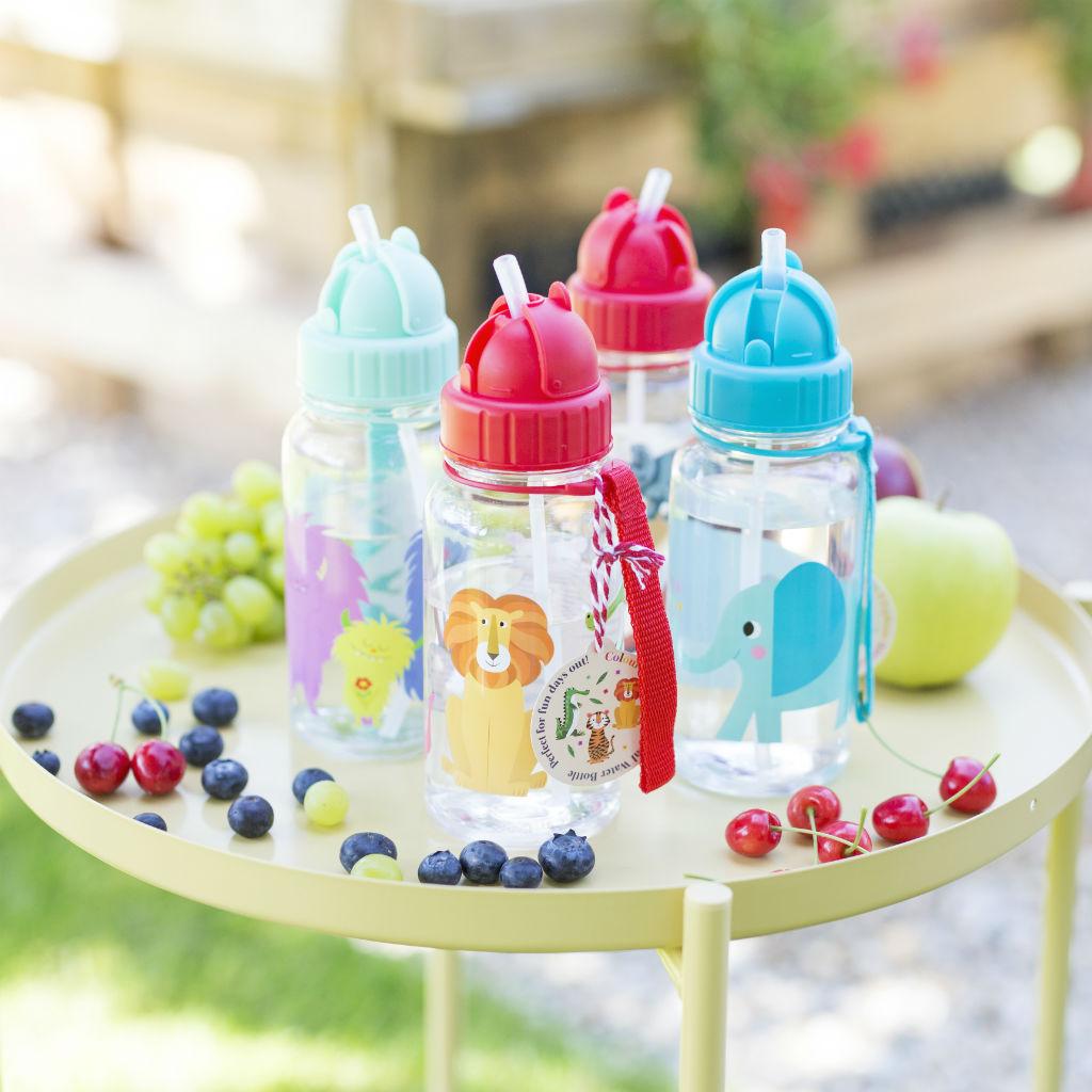 Detské fľaše so slamkou (rôzne dizajny)