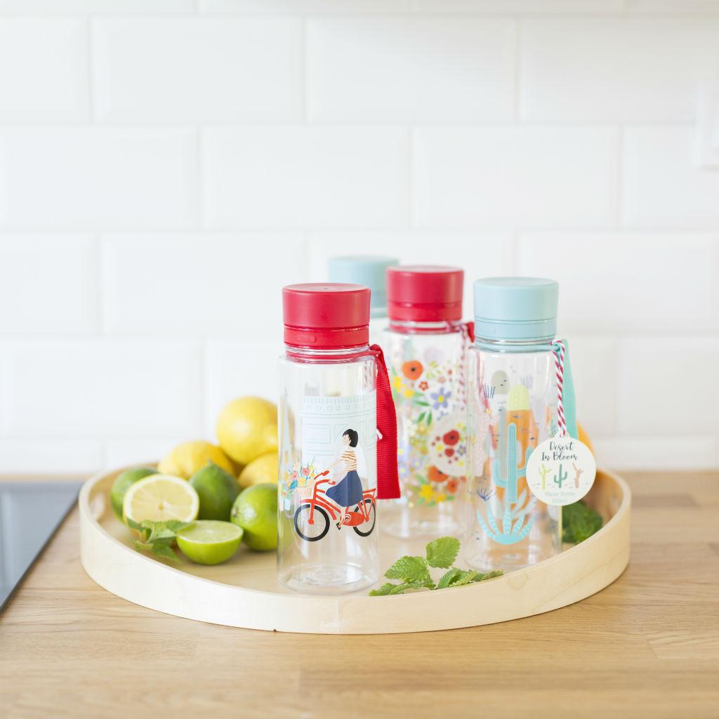 Fľaša na vodu (rôzne dizajny)