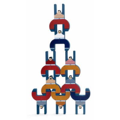 "Balančná hra ""Bratia akrobati"" (detail)"