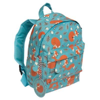 Detský mini ruksak (Lišiak Rusty) - spredu