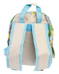 Detský mini ruksak (dinosaury) – zozadu